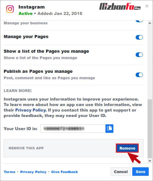 قطع اتصال اینستاگرام از فیس بوک
