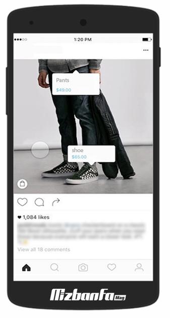 چگونه در اینستاگرام تگ قیمت بگذاریم؟