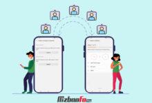 چگونه مخاطبین را از یک گوشی به گوشی دیگر انتقال دهیم؟