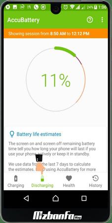 نرم افزار تست سالم بودن باتری گوشی اندروید