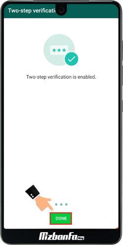 آموزش تایید رمز دو مرحله ای واتساپ