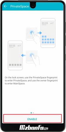 مخفی کردن برنامه ها در گوشی های هواوی Huawei