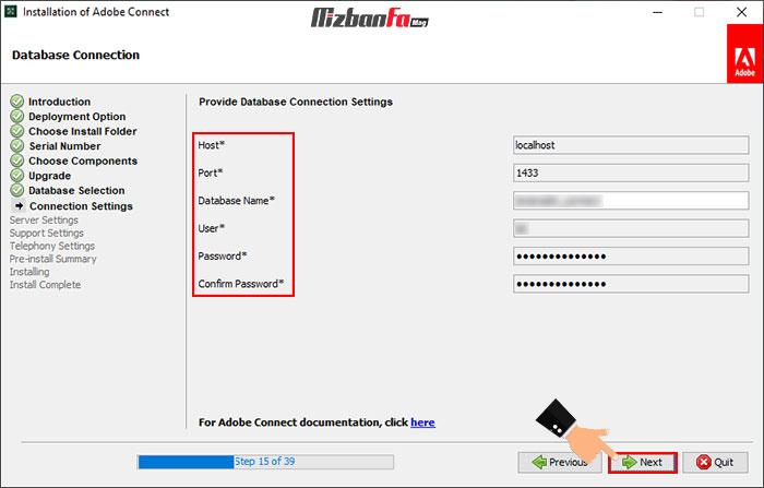 چگونگی نصب برنامه ادوب کانکت ویندوز