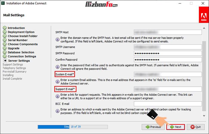 آموزش نصب برنامه adobe connect برای ویندوز