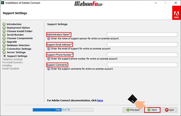 امکان نصب برنامه adobe connect برای ویندوز