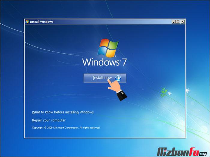 نصب دو ویندوز متفاوت در یک کامپیوتر