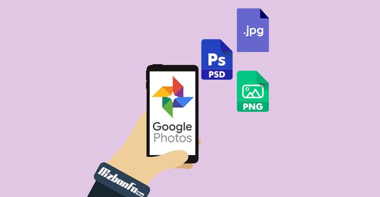 نحوه ذخیره عکس در گوگل فوتو در اندروید
