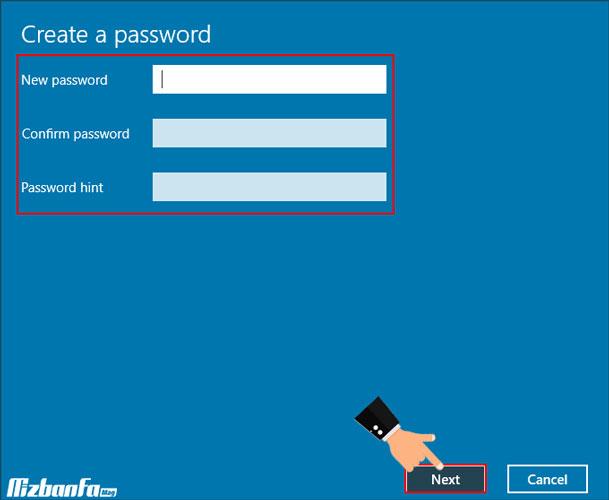 آموزش گذاشتن رمز روی کامپیوتر