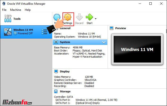 نصب ویندوز روی ویرچوال باکس
