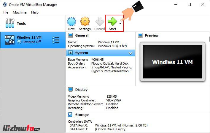 نصب ویندوز روی ماشین مجازی
