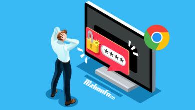 مدیریت نام کاربری و کلمه عبور های ذخیره شده در گوگل کروم