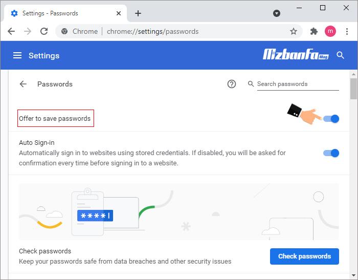 دیدن رمزهای ذخیره شده در گوگل کروم