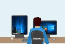 رفع مشکل برعکس شدن صفحه مانیتور در ویندوز
