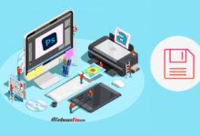 آموزش ذخیره تصاویر برای وب در فتوشاپ