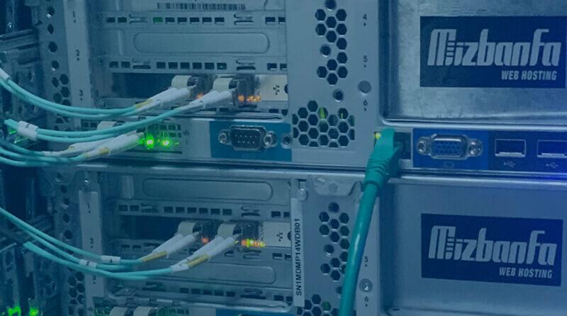 استفاده از کابل های شبکه فیبر نوری در پروژه هاست ابری میزبان فا